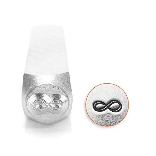 ImpressArt Infinity Symbol Metal Punch Stamp, 6mm