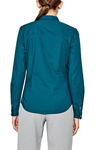 Donna 375 Teal Green Dark ESPRIT Camicia Verde Ux7gqzW5wW
