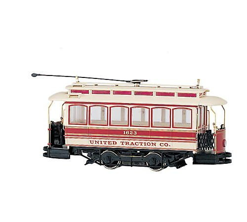Closed Street Car United Traction - On30 Scale