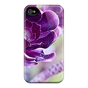 LauraKrasowski Cng48265tYGv Protective Cases For Iphone 6(lovely Deep Purple Flowers)