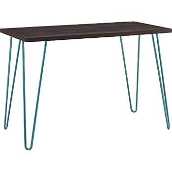Genial Ameriwood Home Owen Retro Desk, Espresso/Teal