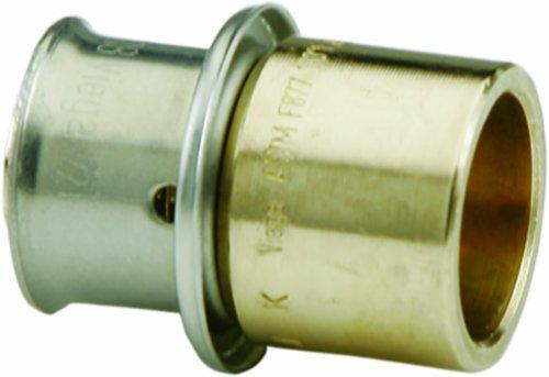 Viega 92070 PureFlow Zero Lead Bronze PEX Press Tubing Ad...