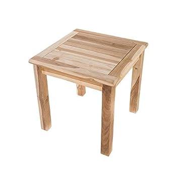 Macoshopde By Maco Möbel Beistelltisch Gartentisch Aus Teak Holz
