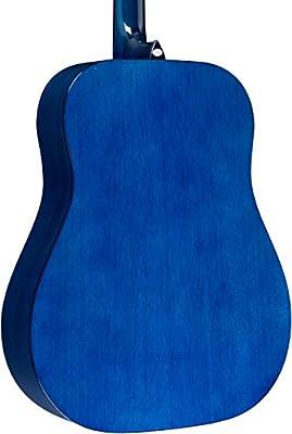 Rogue ra-100d Dreadnought Guitarra Acústica Azul Burst: Amazon.es ...