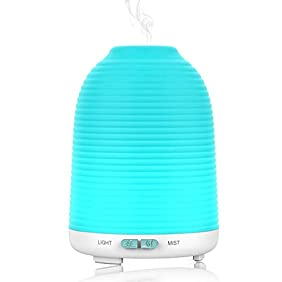 Aptoyu Aromatherapy Essential Oil Diffuser, 120 ml