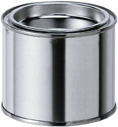 新潟精機 BeHAUS 空缶 シングルふたタイプ 200ml C-200S