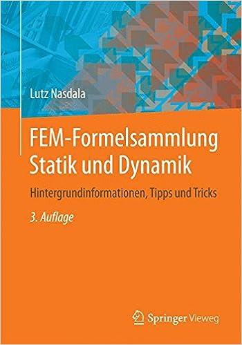 fem formelsammlung statik und dynamik nasdala lutz