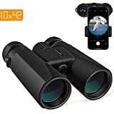 APEMAN 10X42 HD Binoculars for Adults with Low Light Vision,Compact Binoculars for Bird Watching,Hunting,Sports Events,Travel