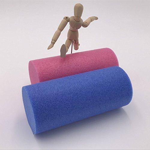 Fluff yroll–Doux fascias et de rouleau de yoga pour auto-massage HWS os Muscles Plusieurs couleurs
