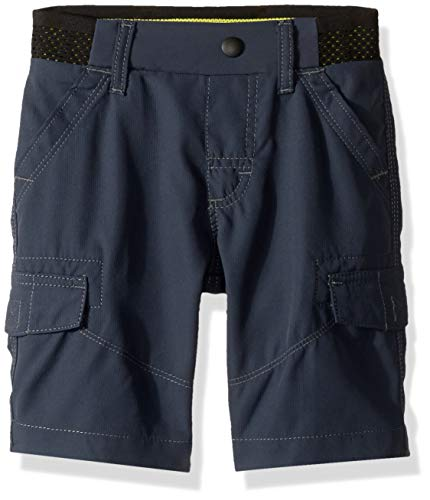 LEE Big Boy Proof Pull-On Varsity Cargo Short, Outer Space 14 Regular ()