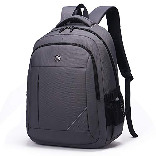 Laptop Backpack, Business Durable Laptops Backpack, Water Resistant College School Computer Bag for Women Men Travel Fits 15.6in Laptop and Notebook Grey