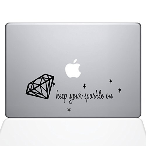新品入荷 The Vinyl Decal Guru 1677-MAC-13X-BLA Keep MacBook Your Sparkle on Sticker Decal Vinyl Sticker Black 13 MacBook Pro (2016 & Newer) [並行輸入品] B078FBKL6B, SENEN ZAKKA:be51e91a --- a0267596.xsph.ru