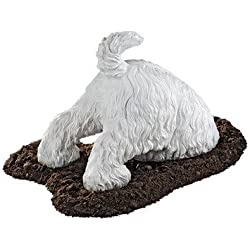 Design Toscano Highland Terrier Digging Dog Statue