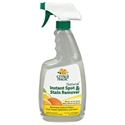 Citrus Magic Natural Instant Spot and Stain Remover 22 fl. oz. (650ml) PACK OF 8