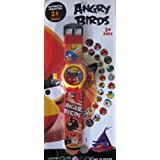Rashi Infomedia Combo for 24 images Ben10 and Angry Birds Projector kids Watches