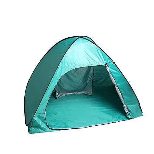 Sunba Youth Beach Tent, Pop Up Tent, Baby Beach Sun Shade, UV Protection Sun Shelter (BigGreen) Review