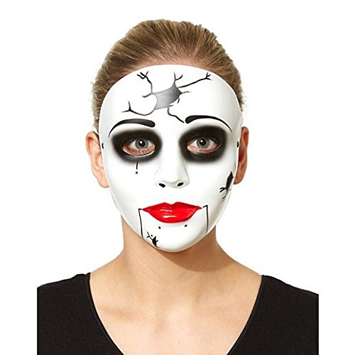 Costume Beautiful China Doll Mask