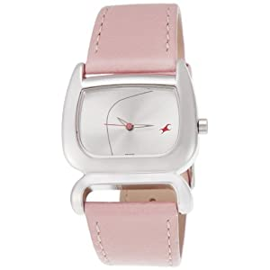 Fastrack Fits and Forms Analog Silver Dial Women's Watch -NM6091SL01 / NL6091SL01
