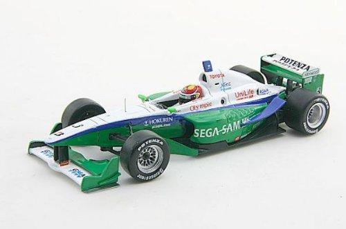 1/43 KONDO RACING F/N 2006 SEGA SAMMY #3(ホワイト×グリーン) 「RACING CAR COLLECTION」 43871