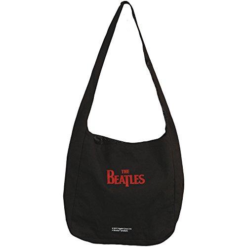 Beatles Messenger Bag Black