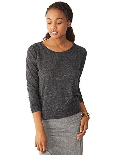 UPC 607048260887, Alternative Women's Slouchy Pullover, Black, X-Large