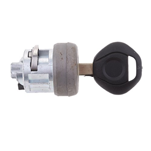 (Dolity Car Ignition Lock Cylinder With Key for BMW 325i 325iC E36 E34 E32 E31)