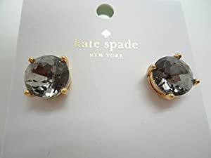 Kate Spade New York Kate Spade Earrings (Black/Diamond)