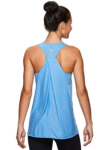 (RBX Active Women's Yoga Workout Tank Top S19 Blue M)