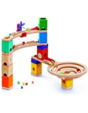 HAPE Quadrilla Race to the Finish Marble Run Learning And Development Toys, 58 Each