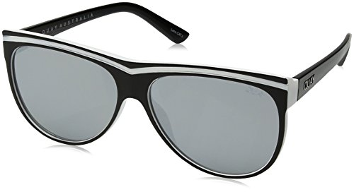 Quay Women's Hollywood Nights Sunglasses, Black/Silver, One - Hollywood Sunglasses