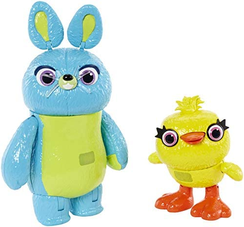 Disney- Pixar Toy Story Ducky and Bunny, Multicolor, Pack de 2 ...