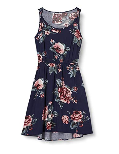 ONLY Damen Onlnova Life S/L Sara AOP WVN Dress Kleid