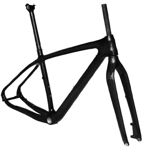 Full Carbon 3K Glossy 29er Mountain Bike MTB 29'' Wheel BB30 Frame Seatpost Fork 19'' by x-goods