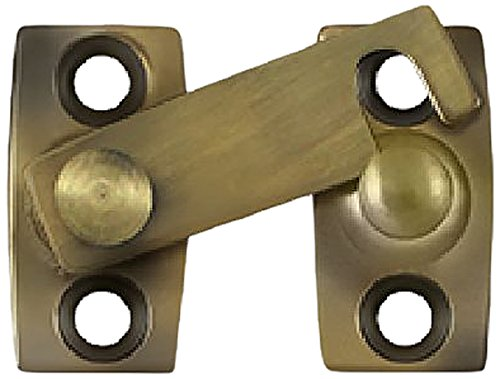 Brass Latch Bar - Deltana SB3058U5 5/8-Inch Shutter Bar/Door Latch
