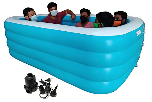 Cho-Cho Inflatable Bath Tubs® for Kids and Adults SPA Tub with Pump ( A210F )