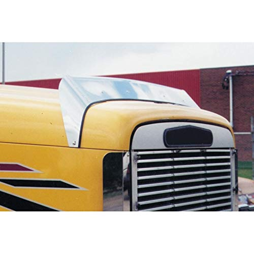 United Pacific Freightliner FLD 120/112 Stainless Bug Deflector