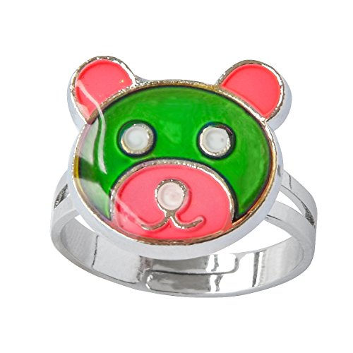 Mood Rings Color - Inspiration Bear Finger Ring Adjustable Size Decorations Mood Ring Color Changing
