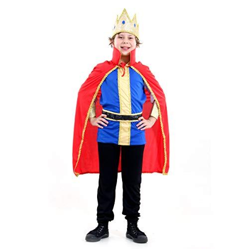 Rei Luxo Infantil Sulamericana Fantasias P 3/4 Anos
