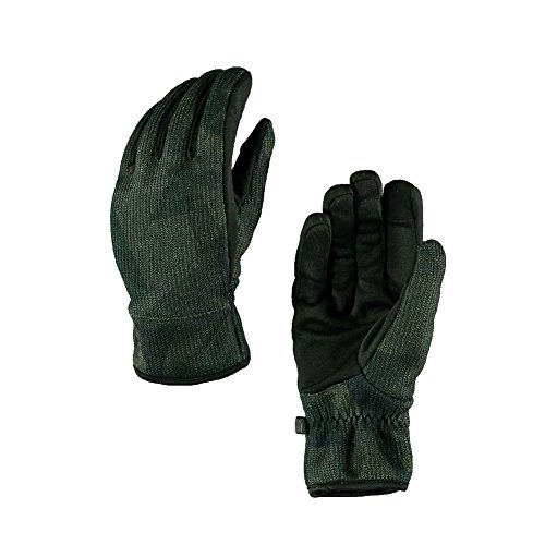 Spyder Men's Stretch Fleece Conduct Glove, Guard Camo Print/Black, Medium