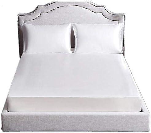 feichanghao Color Liso sábanas Blancas Seda 19mm algodón sin ...