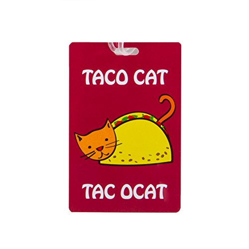 Travelon Personal Expression Luggage Tag,Taco Cat by Travelon (Image #2)