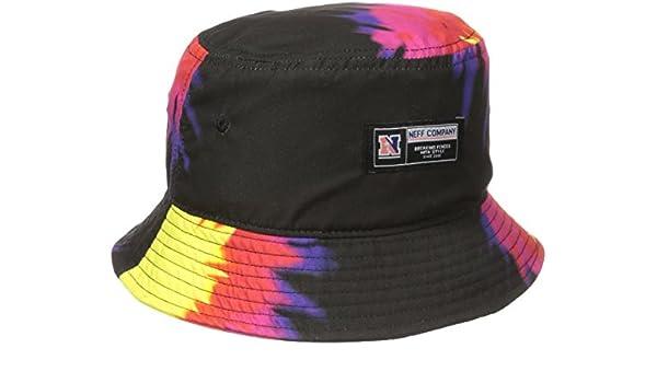 6a2f26e61 Neff Men's Tie Dye Bucket Hat, Black, One Size: Amazon.ca: Clothing ...