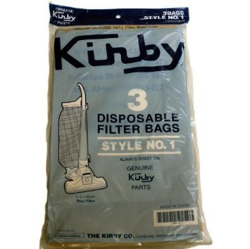 KIrby Upright Tradition Style 1 Paper Bags 3PK # 190679S - 3cb Bag