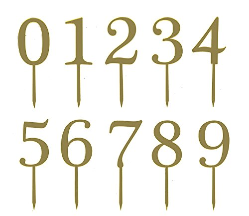 gold cake numbers - 4