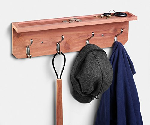 Coat and Hat Rack Cedar