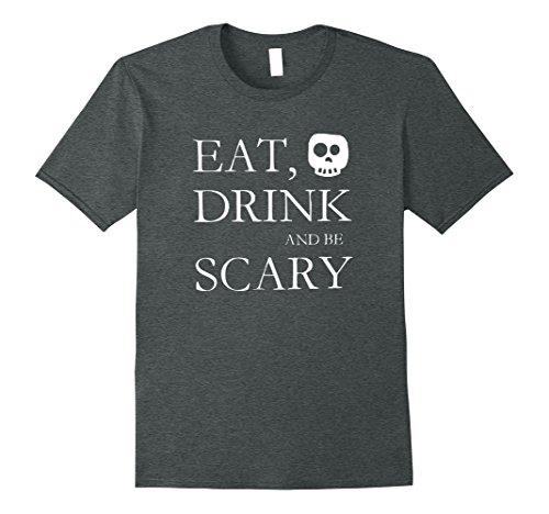 Witty Costumes Ideas (Mens Halloween Spooky Quotes Popular Halloween Costume Idea XL Dark Heather)