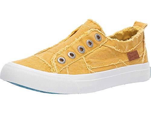 Blowfish Malibu womens Play Sneaker, Mango Mojito Canvas, 6.5 US