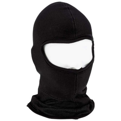 NEW Diamond Plate Black Motorcycle Full Face Mask/polyester Fleece Neck Area