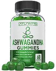 Ashwagandha Gummies - 1500MG Ashwagandha Per Serving - Relieves Stress, Improves Mood, Boosts Energy Levels & Strengthens Immune System - Formulated with Vitamin D & Zinc - Vegan - 60 Gummies