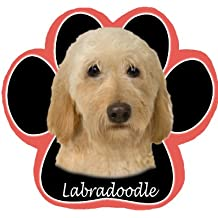 Labradoodle Non Slip Paw Shaped Mouse Pad